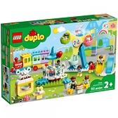 樂高積木 LEGO《 LT10956 》Duplo 得寶系列 - 遊樂園 / JOYBUS玩具百貨