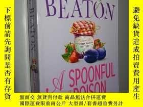 二手書博民逛書店A罕見Spoonful of Poison by M. C. B