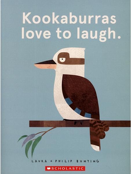 【麥克書店】KOOKABURRAS LOVE TO LAUGH /英文繪本《主題: 幽默.自我認同》