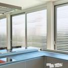 免膠透明仿百葉窗玻璃貼膜貼紙辦公室移門窗戶貼防曬隔熱家用陽台 ATF 夏季狂歡