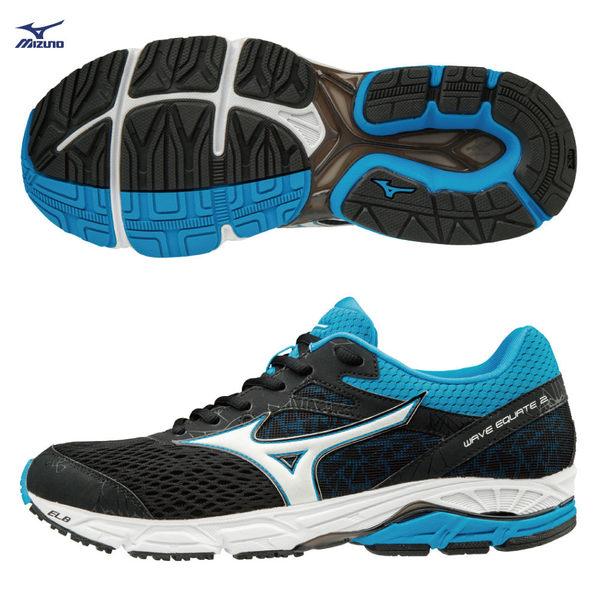 美津濃 MIZUNO 男慢跑鞋 WAVE EQUATE2 支撐型 中低足弓適用 J1GC184801