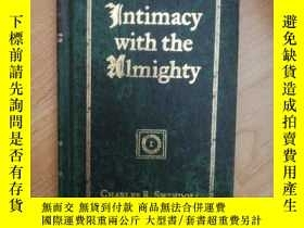 二手書博民逛書店英文原版INTIMACY罕見WITH THE ALMIGHTY ( 英文明信片一張如圖)Y265265 CHA