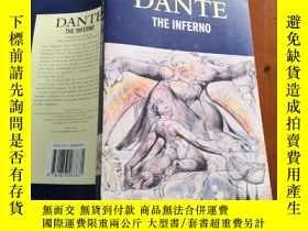 二手書博民逛書店The罕見Divine Comedy: Inferno (但丁《