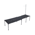 [Snowline] CF酷必家鋁板系統桌組 (L6+M3) 黑 (SN75UTA024)