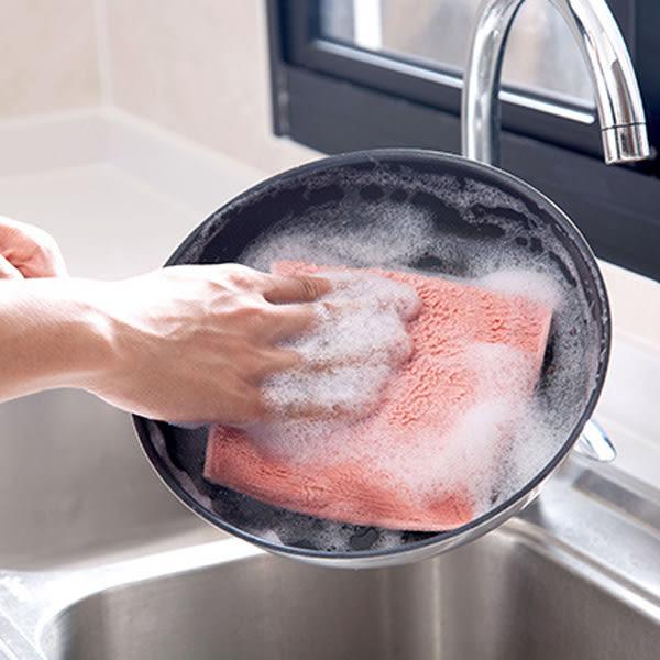 【BlueCat】吸水加厚毛雙色毛巾 擦手巾 抹布 (大條)