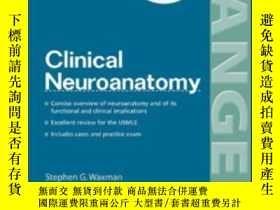 二手書博民逛書店Clinical罕見NeuroanatomyY364682 Waxman, Stephen G. Mcgraw