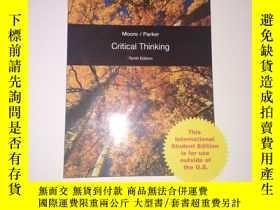二手書博民逛書店Critical罕見Thinking (Tenth Editio