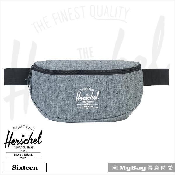 Herschel 腰包 灰色點點  單肩側背包 Sixteen-1160 MyBag得意時袋