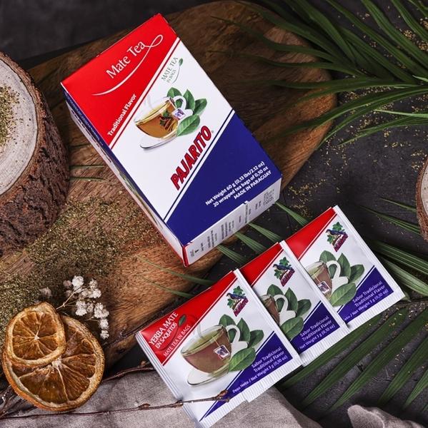 【PAJARITO】巴拉圭原裝進口小鳥牌瑪黛茶茶包盒3g*20包 現貨