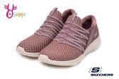 SKECHERS ULTRA FLEX 休閒運動鞋 女款 包覆 透氣健走鞋Q8243#粉紅◆OSOME奧森童鞋