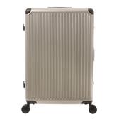 HOLA 萊森鋁框行李箱28吋 香檳色
