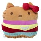 〔小禮堂〕Hello Kitty 漢堡造...
