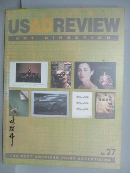 【書寶二手書T7/設計_ELM】US Ad Review_Art Direction