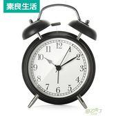 鬧鐘 電子鬧鐘創意學生床頭可愛兒童夜光靜音歐式時鐘鐘錶