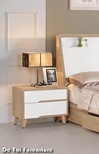 【德泰傢俱工廠】伯妮斯1.8尺床頭櫃 A002-609-7