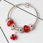 調色水晶珠手鍊 創意歐美時尚diy手鍊 女款《印象精品》yq160