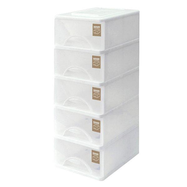 TWSW05 小純白收納櫃(五層)
