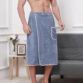 夏季浴袍可穿式浴巾兩用男生潮流運動健身房創意個性超大號速乾 潮流前線