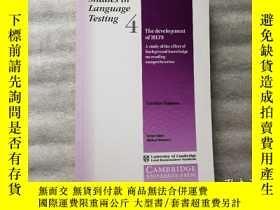 二手書博民逛書店Studies罕見in Language Testing 4Y10249 Cambridge Universi