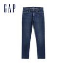 Gap男裝休閒直筒牛仔褲645167-做舊靛藍
