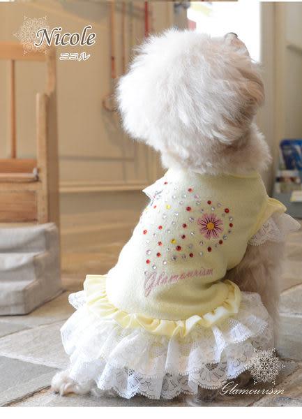 ★OBO CLUB HOUSE☆ Glamourism Nicole 閃亮愛心蕾絲舞裙小洋裝(兩色)