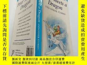 二手書博民逛書店peter罕見meets a dragon and other stories彼得遇到一條龍和其他故事Y200