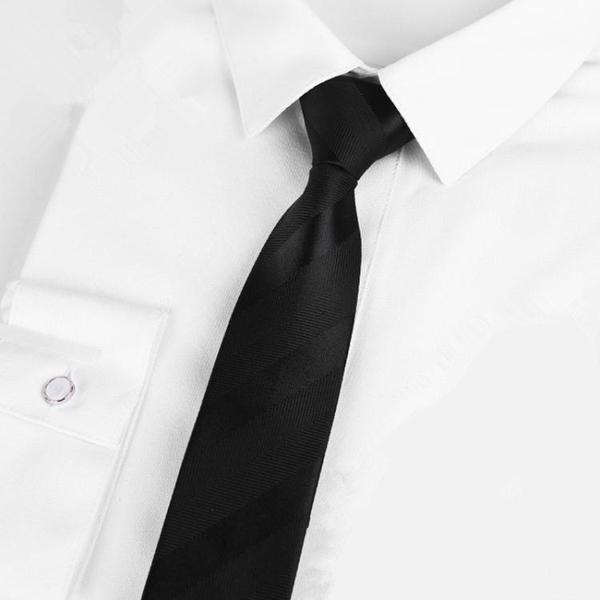 限定款西裝領帶 男士黑色窄版正裝商務小領帶男 正韓5CM6CM學生休閒結婚女禮盒裝