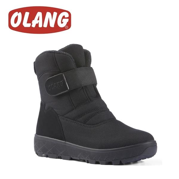 【OLANG 義大利 KEIV OLANTEX 防水雪靴《黑》】14011/保暖/滑雪/雪地
