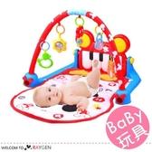 迪士尼正版授權米奇嬰幼兒多功能鋼琴健身架 音樂玩具