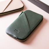 【限定色】Alto 皮革手機收納包 - 松柏綠 (可加購客製雷雕) 保護套 護照夾 手拿包 皮夾 長夾