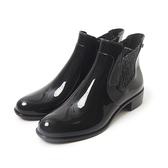 Petite Jolie  銀蔥鬆緊爾西短靴-黑色