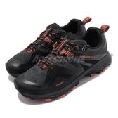 Merrell 戶外鞋 MQM Flex 2 GTX 黑 橘 男鞋 Gore-Tex 防水 越野 運動鞋 【ACS】 ML034231