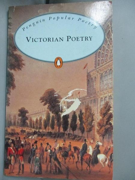 【書寶二手書T3/原文小說_MDS】Victorian Poetry (Penguin Popular Classics