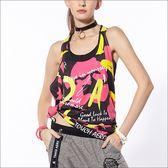 數位印花T背罩衫TA651(商品圖不含內搭/配件) - 百貨專櫃品牌 TOUCH AERO 瑜珈服有氧服韻律服