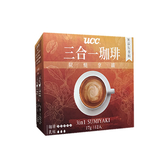 UCC三合一珈琲炭燒拿鐵17G x12【愛買】