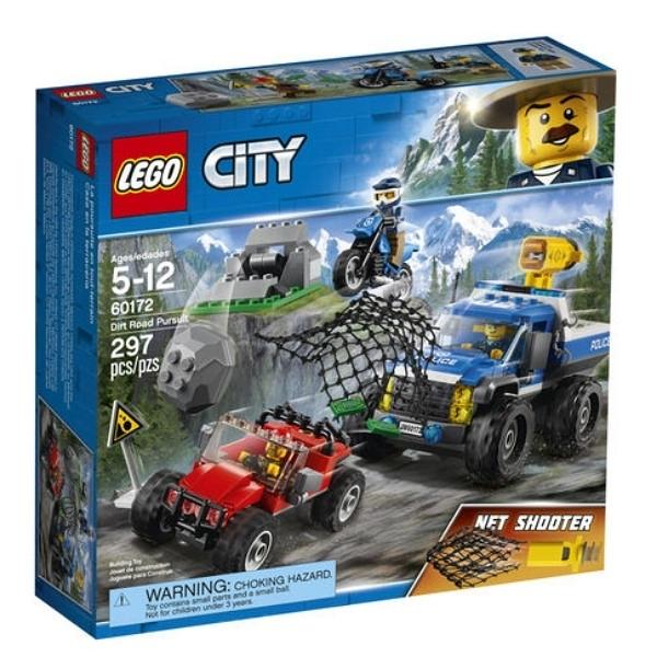 60172【LEGO 樂高積木】城市City 泥路追擊 Dirt Road Pursuit