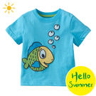 短T / 上衣 /  童裝  / 卡通 / 塗鴉 / 藍色泡泡魚  -Baby Bundle