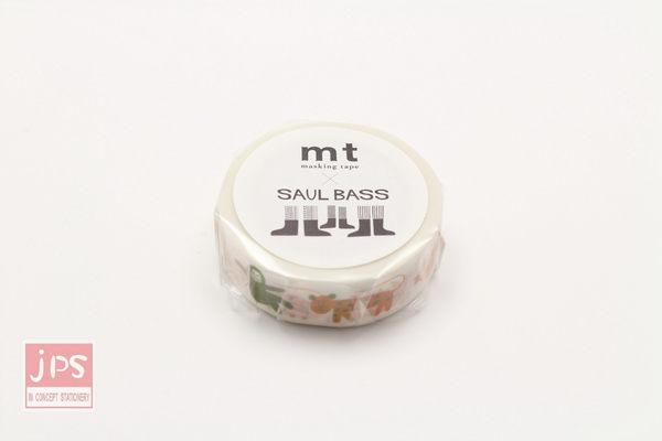 日本MT和紙膠帶 mt×Saul Bass 動物 MTSAUL01 (2016春夏款)