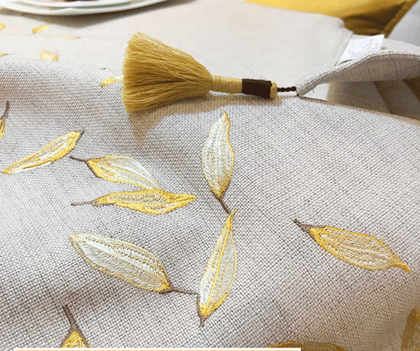 時尚可愛空間餐桌布 茶几布 隔熱墊 鍋墊 杯墊 餐桌巾桌旗689 (45*150cm)