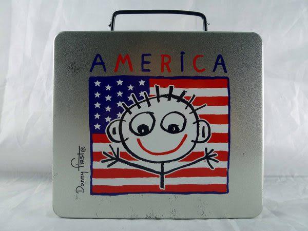 【震撼精品百貨】美國America~鐵提盒