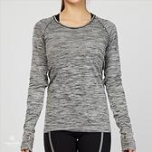 Nike Dri-Fit Knit 女子 灰白 運動 長袖 上衣 831501-010