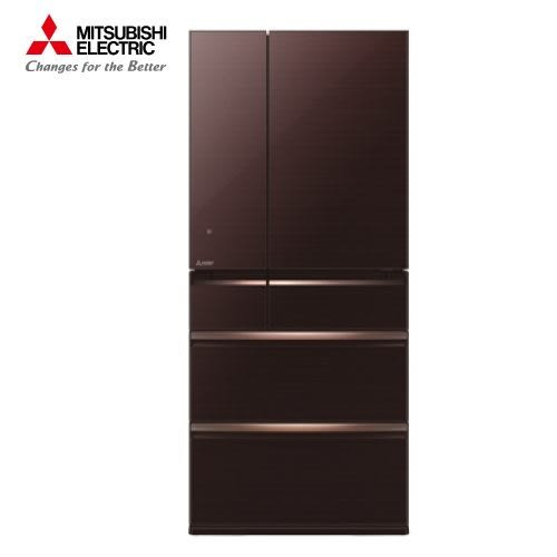 [MITSUBISHI 三菱]705公升 日本原裝六門變頻冰箱-水晶棕 MR-WX71Y-BR 【門市展示新品 限定台南以南】