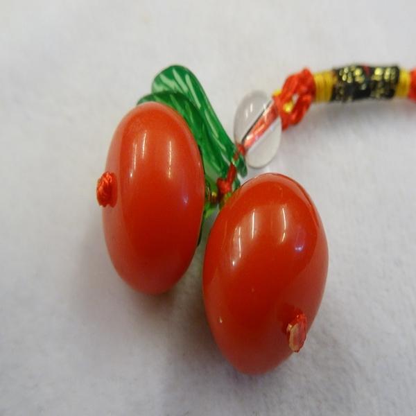 【Ruby工作坊】 NO.23M一件中柿子事事如意吊飾(加持祈福)