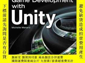 二手書博民逛書店Game罕見Development With UnityY364682 Michelle Menard Cou