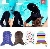 夏基尼防水防曬護臉頭套面罩潛水泳帽PLL3011【男人與流行】