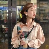 pu皮帽子女貝雷帽韓版日系休閒百搭時尚皮質貝蕾帽潮【雲木雜貨】