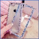 蘋果 iPhone12 iPhone11 12mini 12Pro Max SE2 XS IX XR i8+ i7 i6 邊框彩鑽系列 手機殼 水鑽殼 訂製