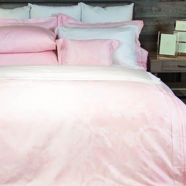 蕾雅木棉絲緹花七件式床罩組 雙人