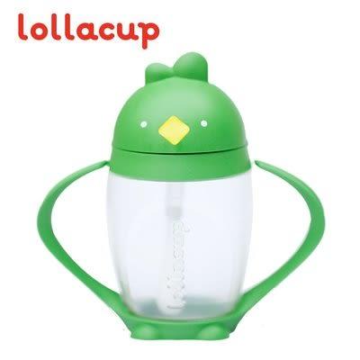 【美國 Lollacup】小雞杯(吸管學習水杯) - 綠油雞 #Lolla1003