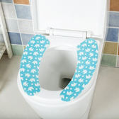 ◄ 生活家精品 ►【F40】印花卡通馬桶貼墊 剪裁 廁所 衛浴 保暖 坐墊 浴室 水洗 圖案 易乾 衛生